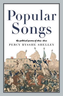 Percy Bysshe Shelley Popular Songs Political Poems 1819